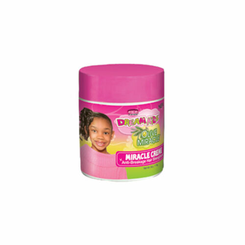 African Pride Dream Kids Olive Miracle Miracle Creme Anti-Breakage Hair Strengthener (6 oz.)
