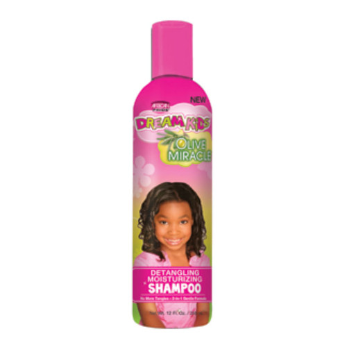 African Pride Dream Olive Miracle Detangling Moisturizing Shampoo (12 oz.)
