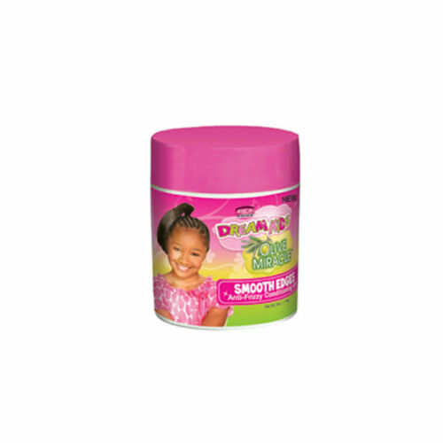 African Pride Dream Kids Olive Miracle Smooth Edges Anti-Frizzy Conditioning Gel (6 oz.)