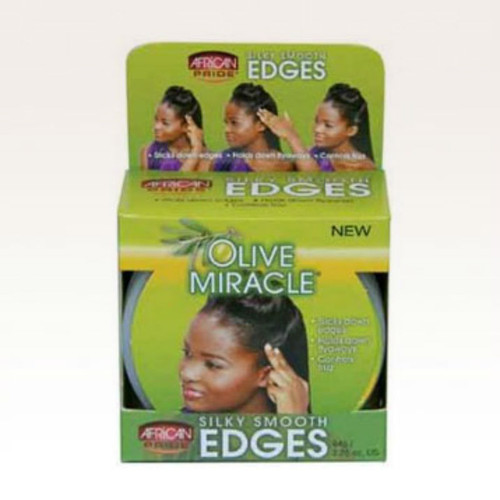Review: African Pride Olive Miracle Silky Smooth Edges (2.25 oz.)