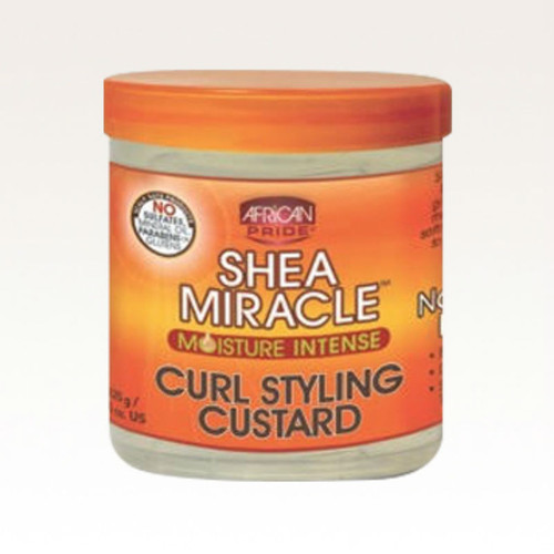 African Pride Shea Butter Miracle Moisture Intense Curl Styling Custard (12 oz.)