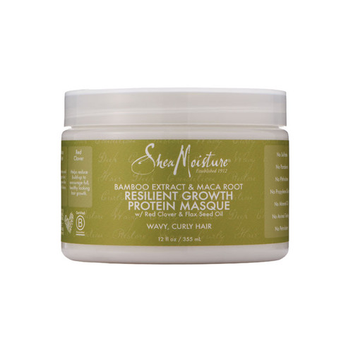 SheaMoisture Bamboo & Maca Root Resilient Growth Protein Masque (12 oz.)