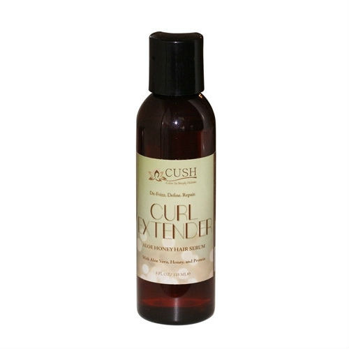 Cush Cosmetics Curl Extender Aloe Honey Hair Serum (4 oz.)