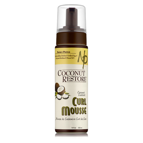 Coconut Restore Coconut Cocktail Curl Mousse (7.5 oz.)