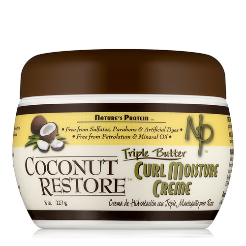 Coconut Restore Triple Butter Moisture Cream (8 oz)