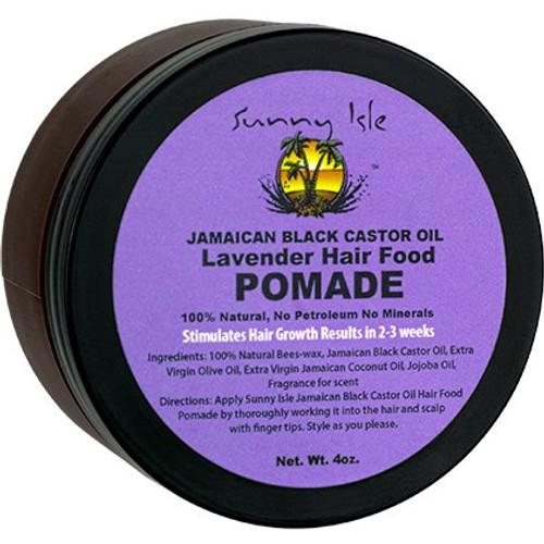Sunny Isle Jamaican Black Castor Oil Lavender Hair Food Pomade (4 oz.)