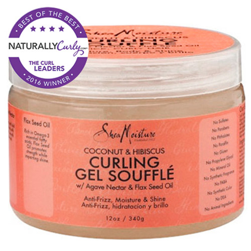 SheaMoisture Coconut & Hibiscus Curling Gel Souffle (12 oz.)