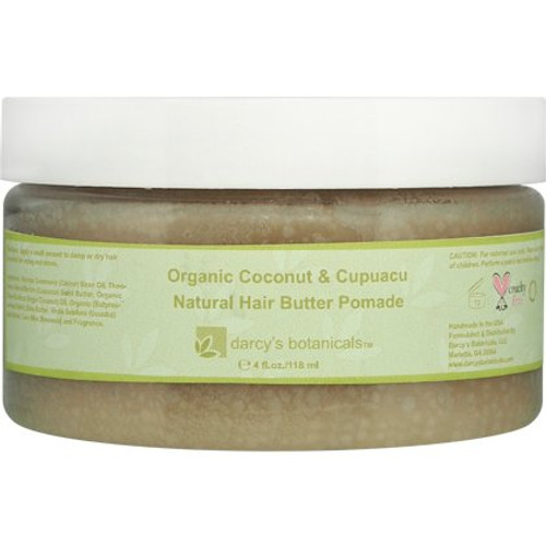 Review: Darcy's Botanicals Organic Coconut & Cupuacu Natural Hair Butter Pomade (4 oz.)