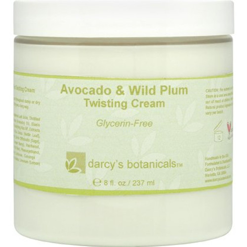 Review: Darcy's Botanicals Avocado & Wild Plum Twisting Cream - Glycerin Free (8 oz.)
