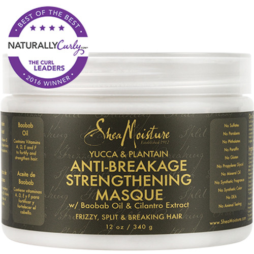 SheaMoisture Yucca & Plantain Anti-Breakage Strengthening Masque (12 oz.)