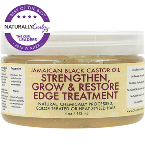 SheaMoisture Jamaican Black Castor Oil Strengthen, Grow & Restore Edge Treatment (4 oz.)