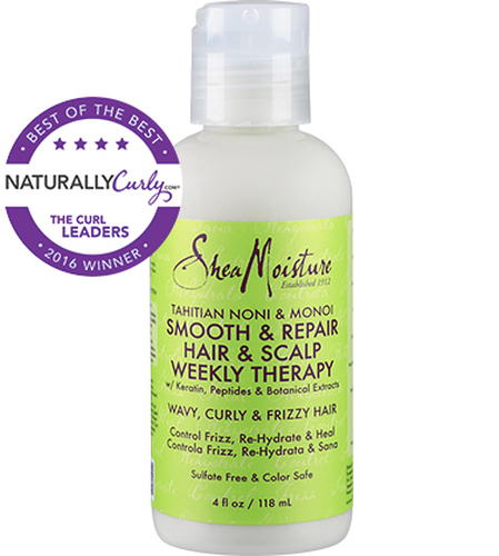 Review: SheaMoisture Tahitian Noni & Monoi Hair & Scalp Weekly Therapy (4 oz.)