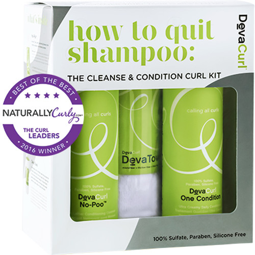 DevaCurl How to Quit Shampoo Kit