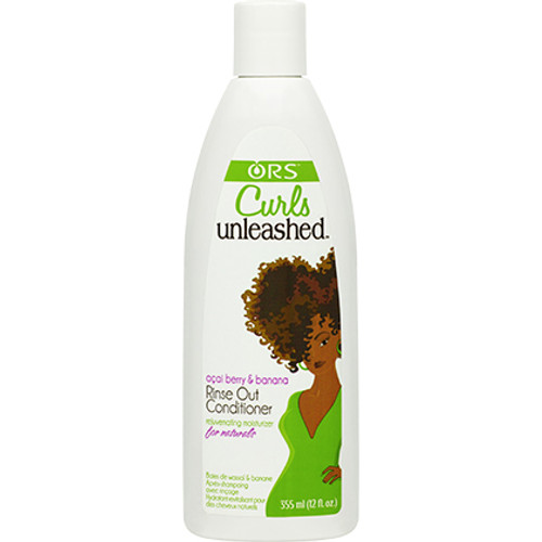 Organic Root Stimulator Curls Unleashed Acai Berry & Banana Rinse Out Conditioner (12 oz.)