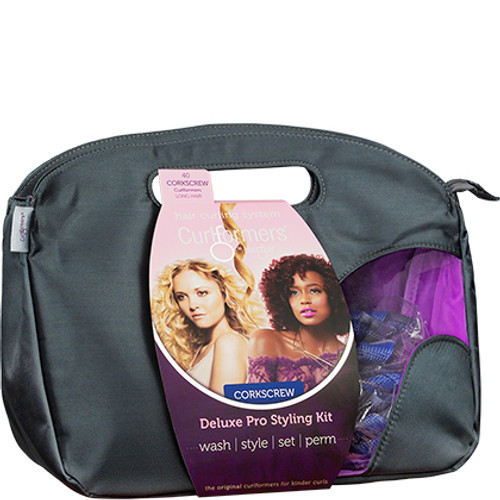 Curlformers by Hair Flair Deluxe Pro Styling Kit for Corkscrew Curls - Long Hair (40 ct.)