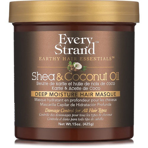 Every Strand Shea & Coconut Oil Deep Moisture Hair Masque (15 oz.)
