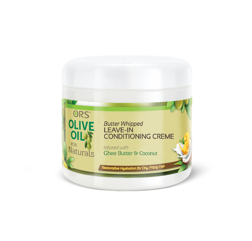 ORS Olive Oil for Naturals Butter Whipped Leave in Conditioning Creme (16 oz.)