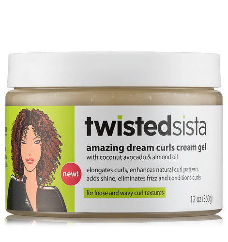 Twisted Sista Amazing Dream Curls Cream Gel (12 oz.)