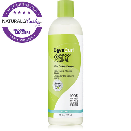 DevaCurl Low-Poo Original Mild Lather Cleanser (12 oz.)