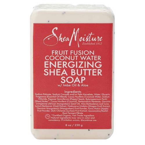 SheaMoisture Fruit Fusion Coconut Water Energizing Shea Butter Bar Soap (8 oz.)