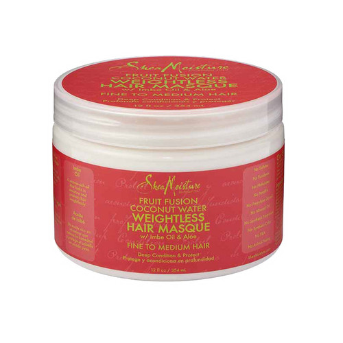 Review: SheaMoisture Fruit Fusion Coconut Water Weightless Masque (12 oz.)