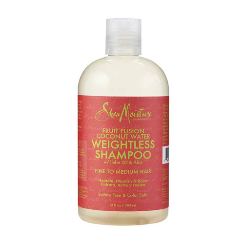 SheaMoisture Fruit Fusion Coconut Water Weightless Shampoo (13 oz.)