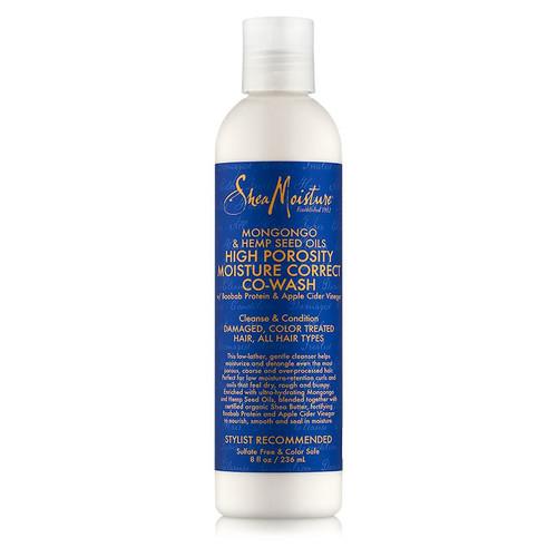 SheaMoisture Mongongo & Hemp Seed Oils High Porosity Moisture-Seal Co-Wash (8 oz.)