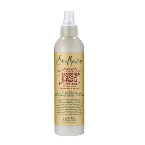 SheaMoisture Jamaican Black Castor Oil Strengthen & Grow Thermal Protectant Spritz (8 oz.)