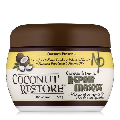 Coconut Restore Keratin Intensive Repair Masque (8 oz.)