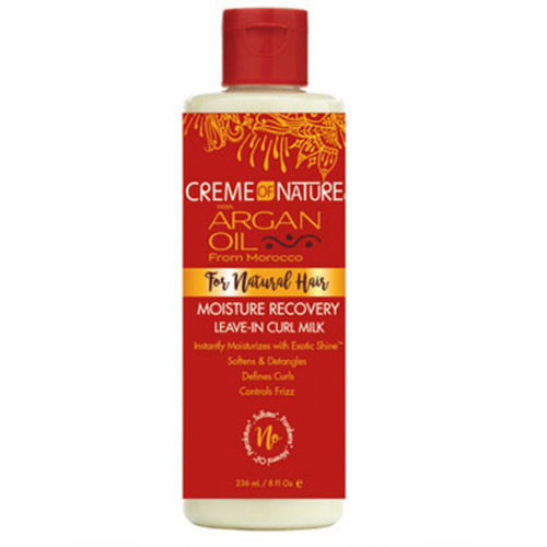 Creme of Nature Argan Oil Moisture Recovery Leave-In Curl Milk (8 oz.)