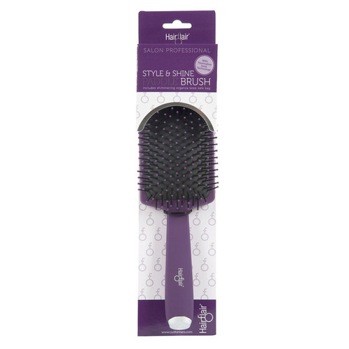 Hair Flair Style & Shine Paddle Brush - Large