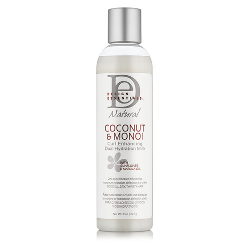 Design Essentials Coconut & Monoi Curl Enhancing Dual Hydration Milk (8 oz.)