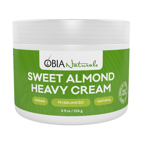 OBIA Naturals Sweet Almond Heavy Cream (8 oz.)