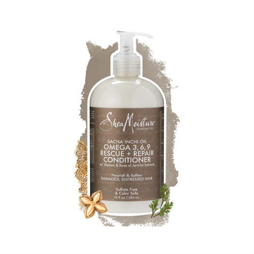 SheaMoisture Sacha Inchi Oil Omega 3-6-9 Rescue + Repair Conditioner (13 oz.)