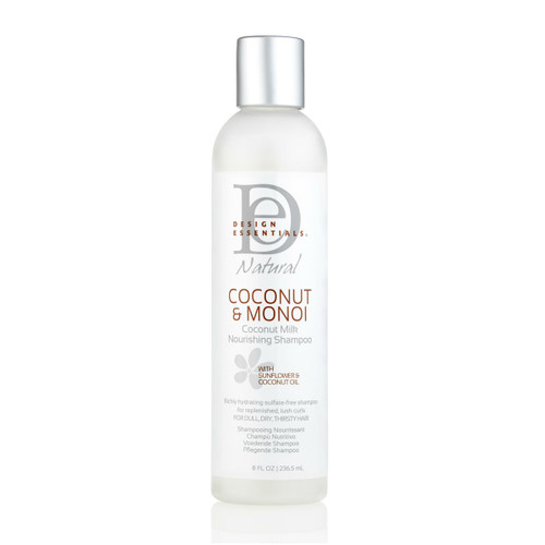Design Essentials Natural Coconut & Monoi Nourishing Shampoo (8 oz.)