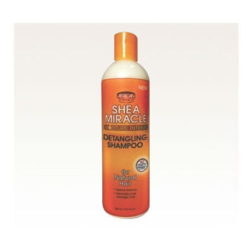 African Pride Shea Butter Miracle Moisture Intense Detangling Shampoo (12 oz.)