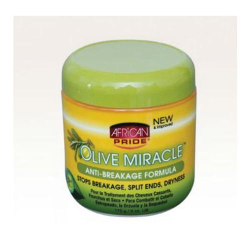 African Pride Olive Miracle Anti-Breakage Formula (6 oz.)
