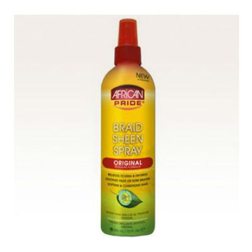 African Pride Braid Sheen Spray - Original (12 oz.)