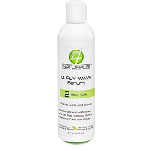 Review: 4Naturals Curly Wave Serum (8 oz.)