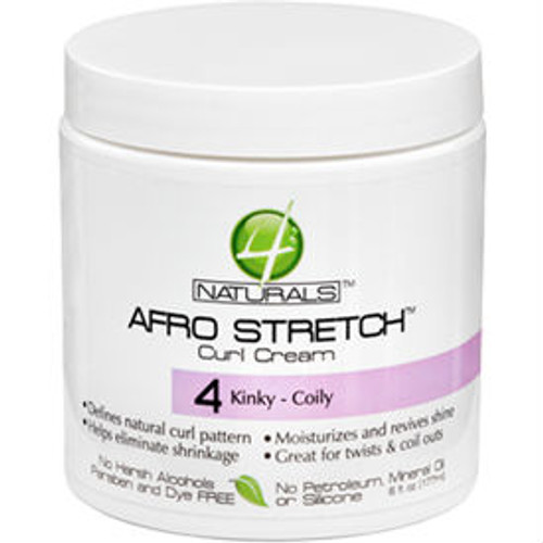 Review: 4Naturals Afro Stretch Curl Cream (6 oz.)