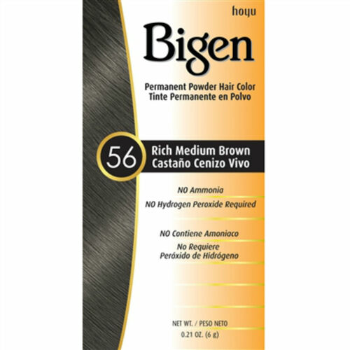 Bigen #56 Rich Medium Brown Permanent Hair Color (0.21 oz.)
