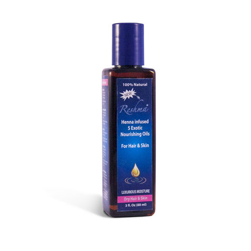 Reshma Beauty Henna Oil Treatment for Dry and Damaged Hair (3 oz.)
