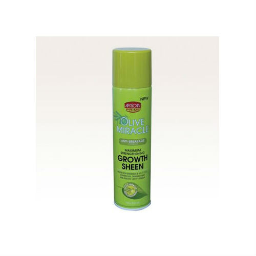 African Pride Olive Miracle Maximum Strengthening Growth Sheen (8 oz.)