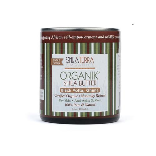 Review: Shea Terra Organics Organik' Shea Butter- Black Volta, Ghana (4 oz.)