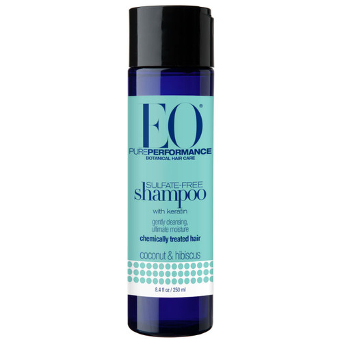 Review: EO Products Coconut & Hibiscus Sulfate Free Shampoo (8.4 oz.)