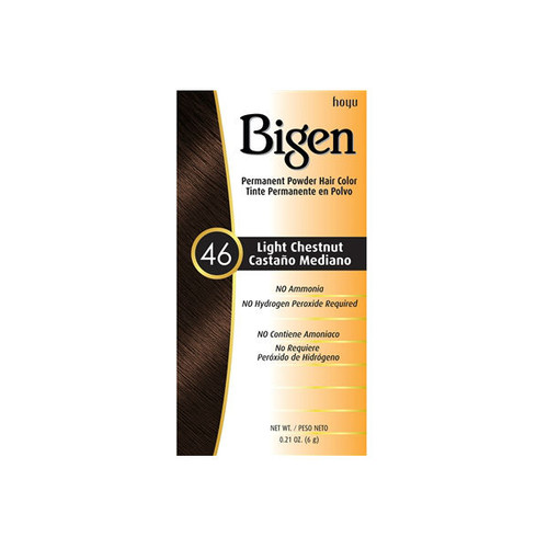 Bigen #46 Light Chestnut Permanent Hair Color (0.21 oz.)