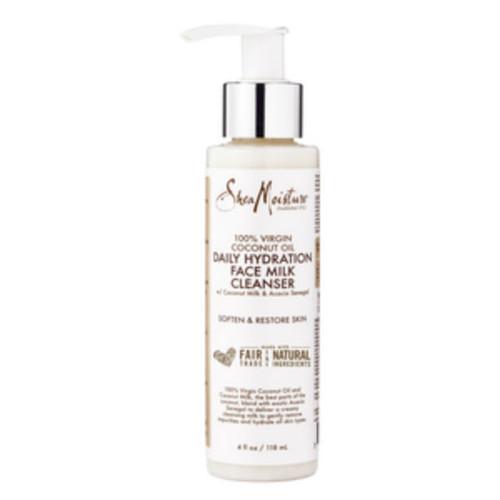 SheaMoisture 100% Virgin Coconut Oil Daily Hydration Face Milk Cleanser (4 oz.)
