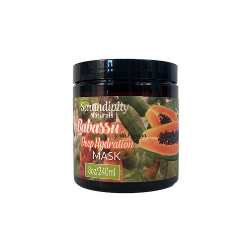 Sarandipity Naturals Babassu & Papaya Deep Hydration Mask (8 oz.)