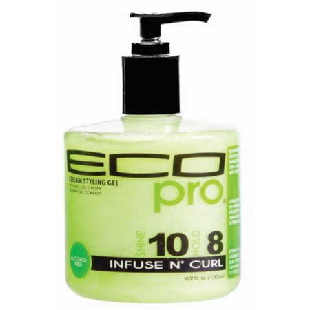 Review: Ecoco Eco Pro Cream Styling Gel Infuse N' Curl (16.9 oz.)