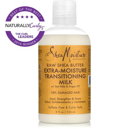 SheaMoisture Raw Shea Butter Extra-Moisture Transitioning Milk (8 oz.)